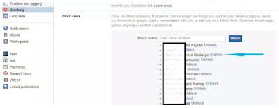 How to View Blocked People on Facebook - Blocked People On Facebook
