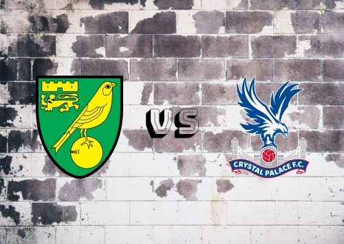 Norwich City vs Crystal Palace  Resumen