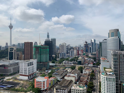 Rooftop view from the Hilton Garden Inn Kuala Lumpur (South)