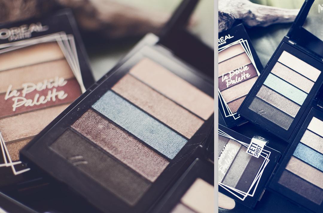 wie teuer ist die L'Oréal Paris La Petite Palette, Swatches der neuen Paletten von L'Oréal