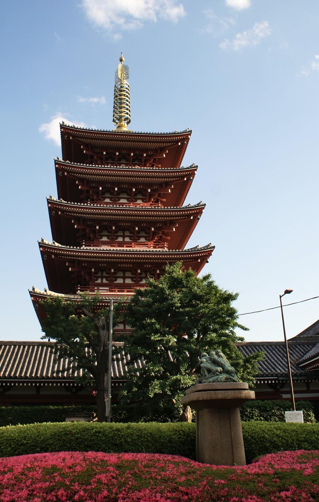 asakusa senso-ji pagoda tokyo japan