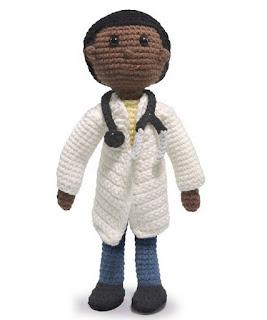 PATRON GRATIS DOCTOR AMIGURUMI 41280