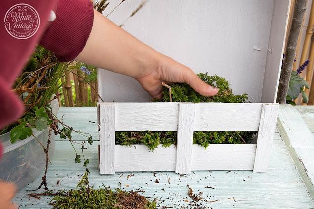 Bastelidee für den Garten