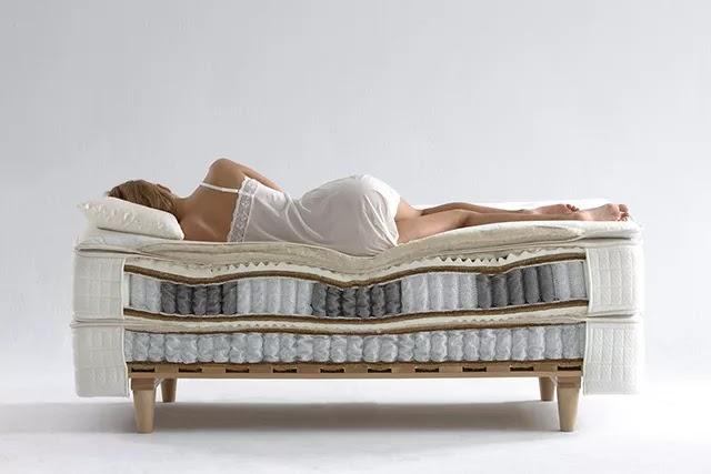 Yataklar, vücut ve omurganıza tam destek verebilmek için çok farklı sünger ve yay sistemlerinden yapılabiliyor.