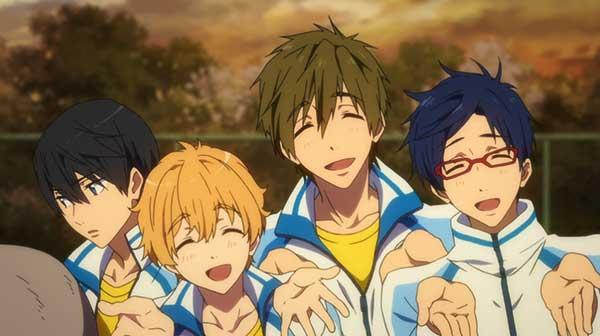 Free - anime sport yang wajib ditonton