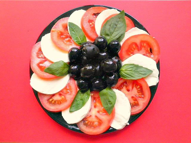 ensalada caprese marnielatragona.blogspot.com.es