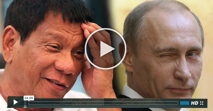 WATCH: Find Out The Shocking Similarities Of Duterte and Russia President Vladimir Putin