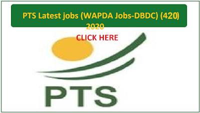 PTS-Latest-Jobs-WAPDA-Jobs-(DBDC-420),WAPDA-Diamer-Basha-Dam-Development-Company-(WAPDA-DBDC)-(420),Government-jobs, jobs-in-Pakistan, WAPDA-JOBS