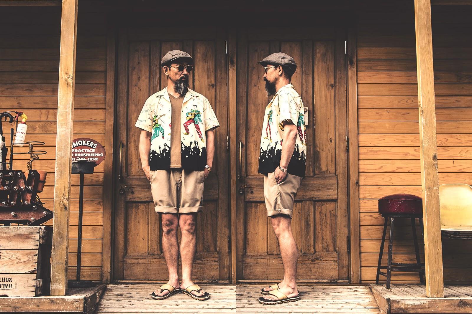 スターオブハリウッド キングオブロック ボーリングシャツ アロハシャツ オープンカラーシャツ プレスリー  フィフティーズシャツ