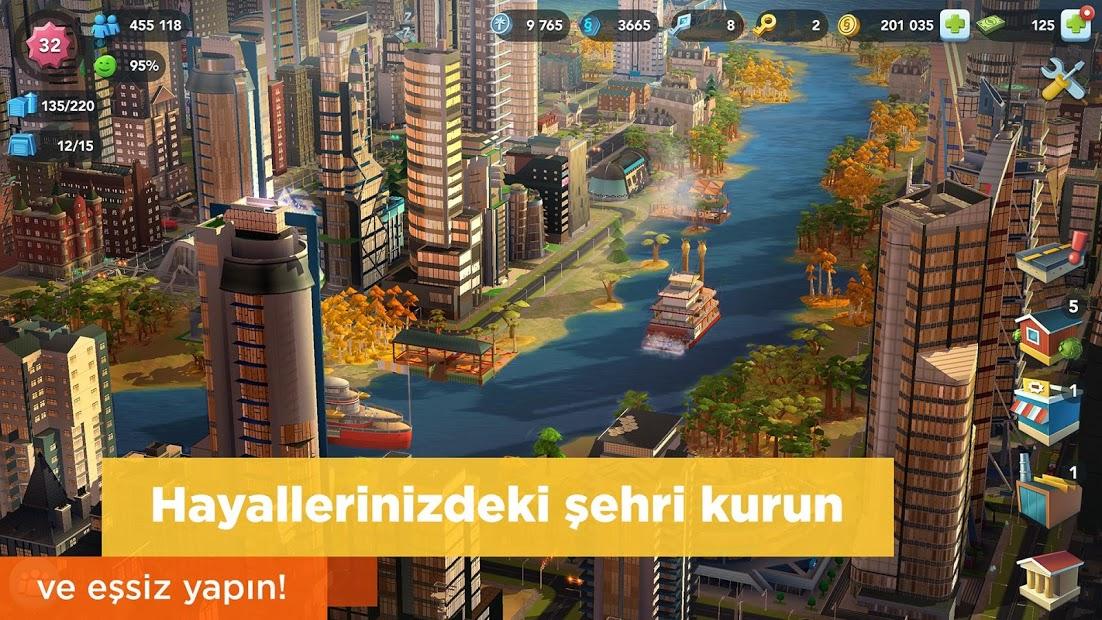 SimCity BuildIt Sınırsız Para Hileli APK 2020 v1.32.2.93582
