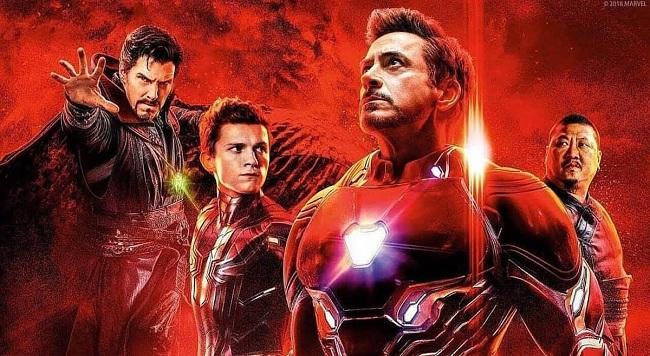 Avengers: Infinity War Doctor Strange - Spider-Man - Iron-Man - Wong