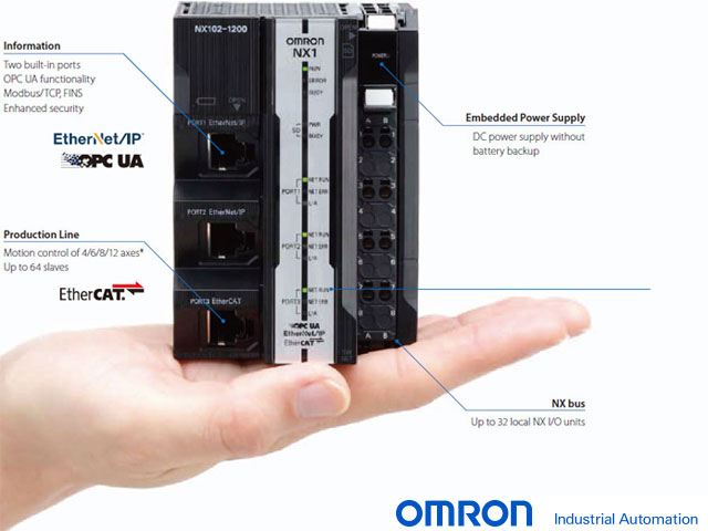 OMRON NX102 Machine Automation Controllers