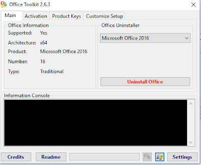 Screenshot Microsoft Toolkit Collection Pack January 2018