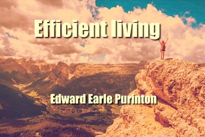 Efficient living