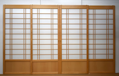 Beech Shoji Screens