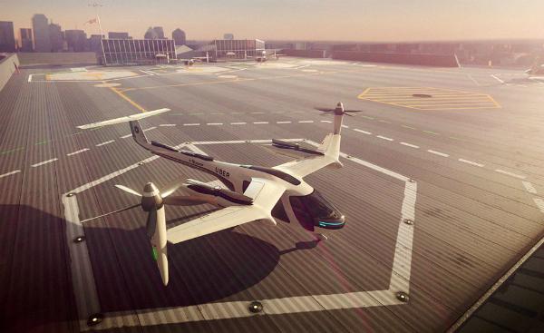 أوبر واليابان تعملان على تحويل حلم السيارات الطائرة إلى حقيقة!
