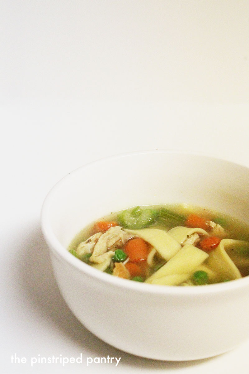 The pinstriped pantry slow cooker chicken noodle soup slow cooker chicken noodle soup soup is my soul food forumfinder Images