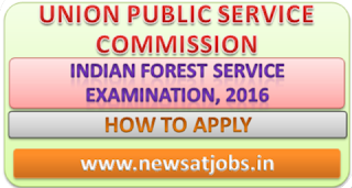upsc+indian+forest+service+examination+2016+how+to+apply