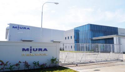 Lowongan Kerja Jobs : Operator Produksi PT Miura Indonesia Min SMA SMK D3 S1 Membutuhkan Tenaga Baru Seluruh Indonesia