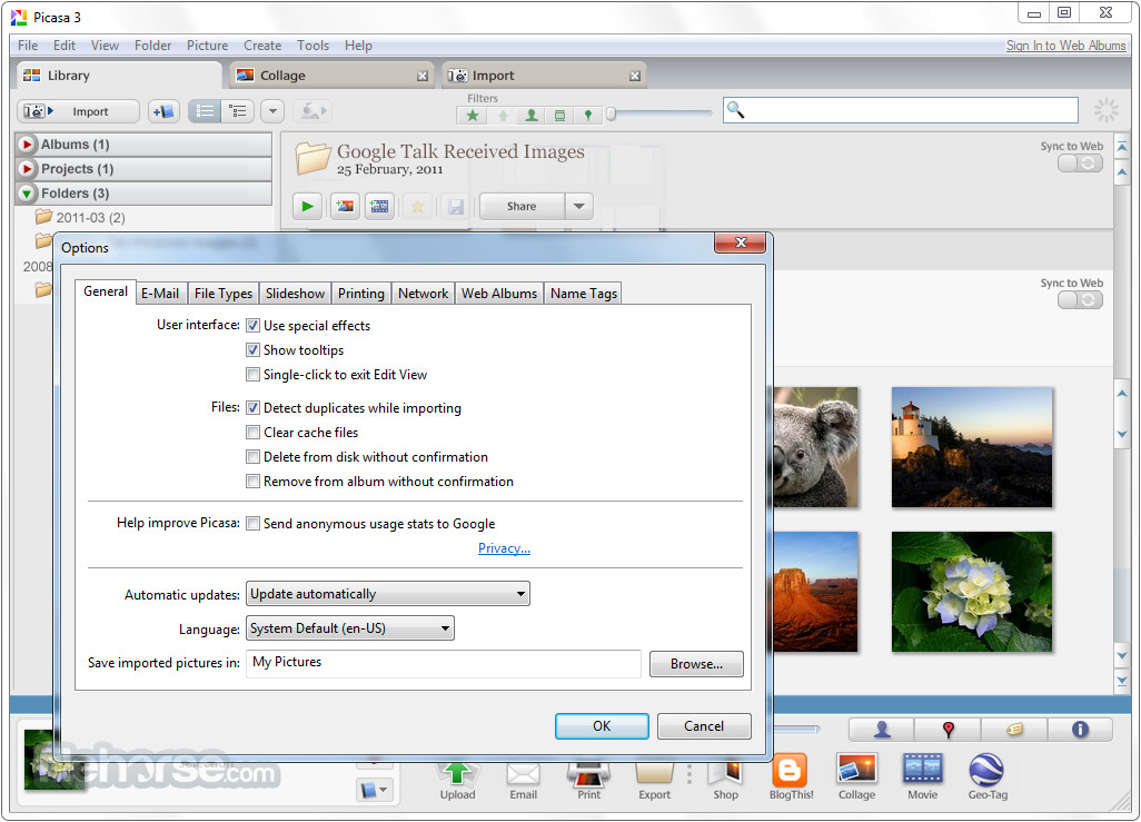 Picasa download for Windows 7