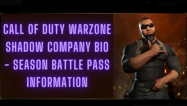 Call Of Duty Modern Warfare Warzone Season 5 Shadow Company Operators Bio Images Every Warzone Trailer To Date Gamer Full Stop Latest Games News Game Reviews Video Game Entertainment Blog
