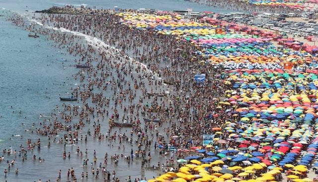 Horario y turno para visitar playa en verano 2021