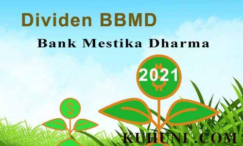 Dividen Bank Mestika Dharma 2021