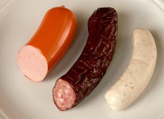 Brühwurst - Fleischwurst, Dauerwurst, Weißwurs by Rainer Zenzt