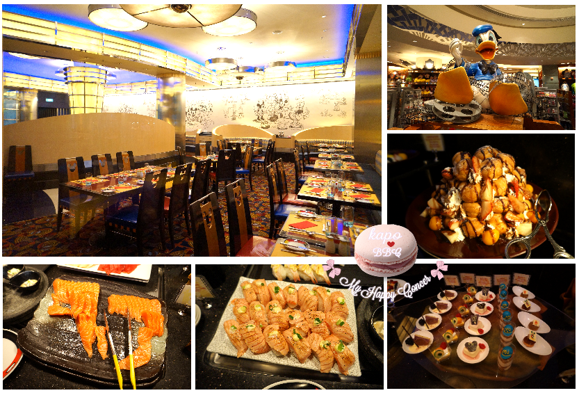 ♥ My Happy Corner ♥: ♥ 迪士尼好萊塢酒店 米奇廚師餐廳自助餐 ♥