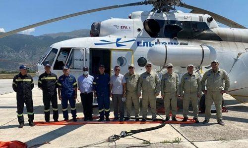 Μόνιμα στο αεροδρόμιο Ιωαννίνων θα βρίσκεται μέχρι το τέλος της αντιπυρικής περιόδου ένα ελικόπτερο της πυροσβεστικής υπηρεσίας προκειμένου να συνδράμει στην κατάσβεση πυρκαγιών, εάν και όταν χρειαστεί.