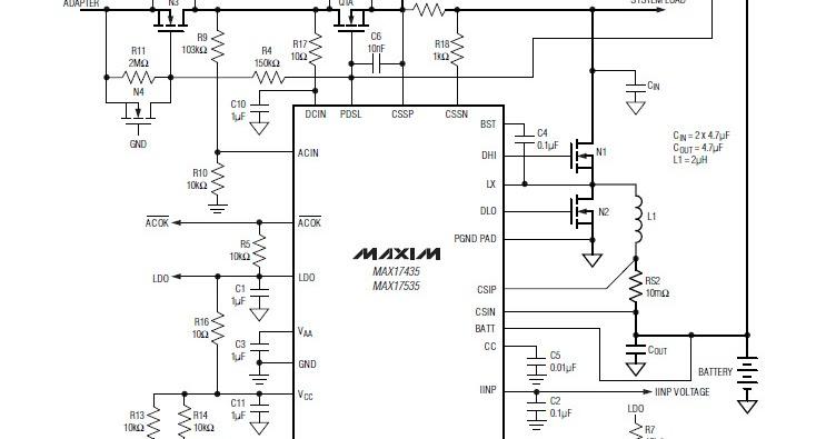 LAPTOP REPAIR TIPS: MAX 17435 IC DATASHEET DOWNLOAD