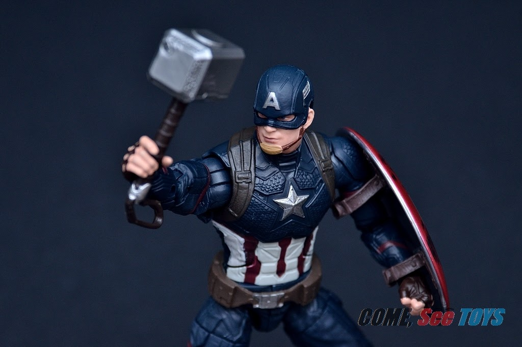 Come See Toys Marvel Legends Series Power And Glory Captain