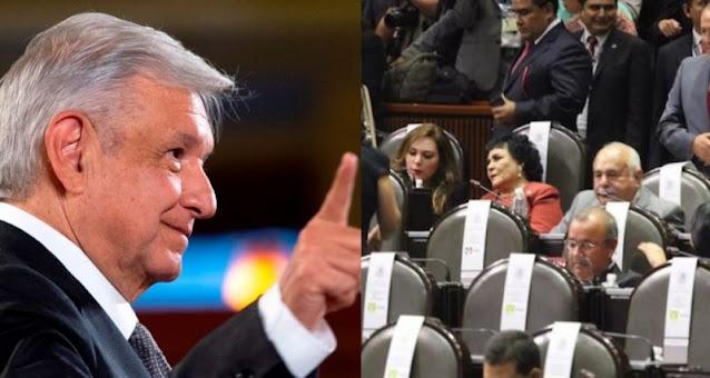 8 de cada 10 mexicanos apoyan propuesta de AMLO de eliminar candidaturas PLURINOMINALES ¿Estas de acuerdo?
