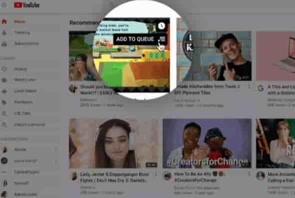 Halaman Muka YouTube di Desktop dan Tablet Berubah