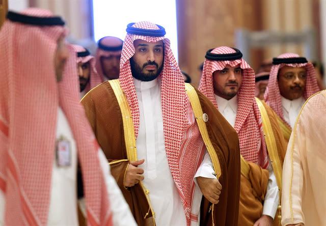 محمد بن سلمان, الملك المنتظر يستعرض عضلاته