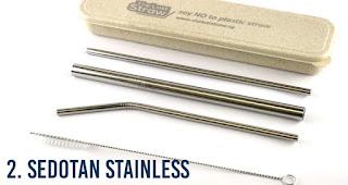 Sedotan Stainless merupakan merchandise promosi yang ramah lingkungan