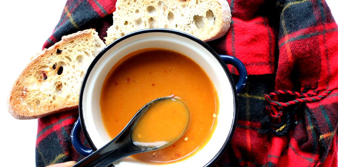 Spiced Winter Veg Soup (Vegan recipe)