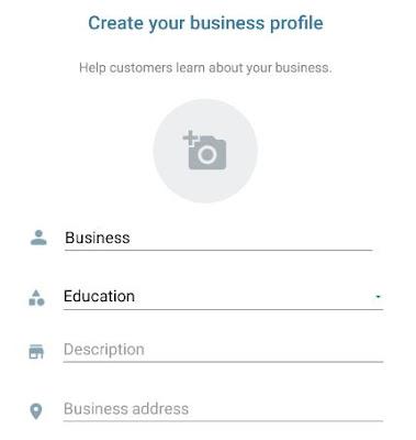 how to create whatsapp business profile