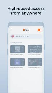 Screenshot Hola VPN Mod