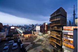 Centro cultural y de Información turística en Asakusa (2012)