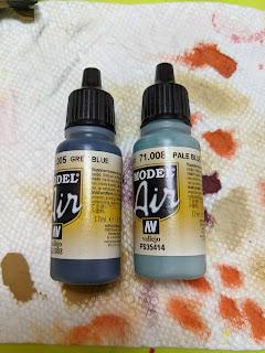 Paints used on Tau Flyers