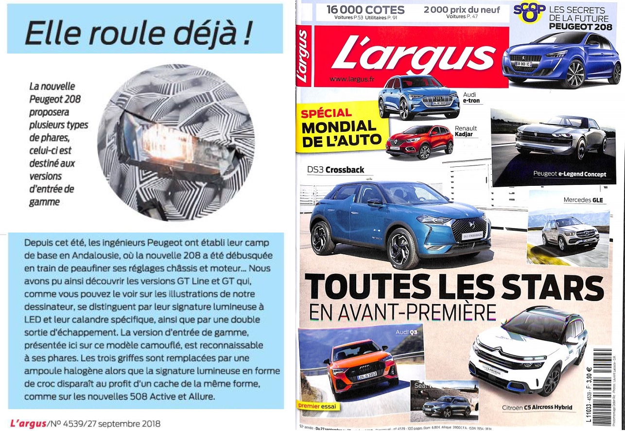 2018 - [Peugeot] 208 II [P21] - Page 32 1031