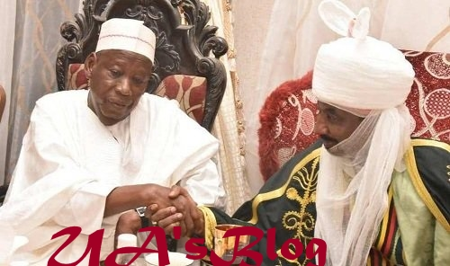 After Ganduje's ultimatum, Sanusi accepts appointment to head Kano council of chiefs