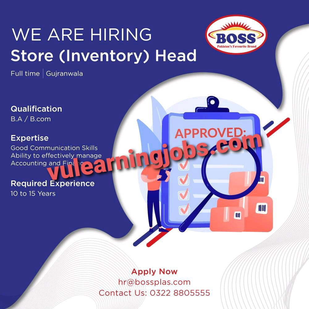 Boss Moulded Furniture Jobs 2021 Latest | Apply Now