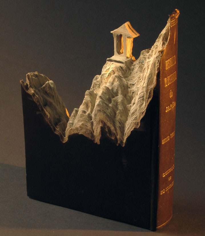 Carved Books by Guy Laramee