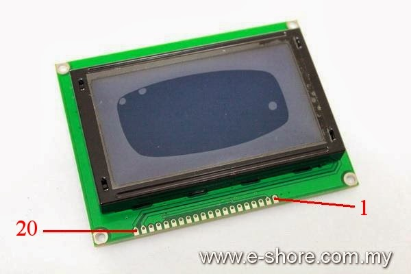 How to Interface Graphic LCD to Arduino Uno and ATmega328 ? « Funny