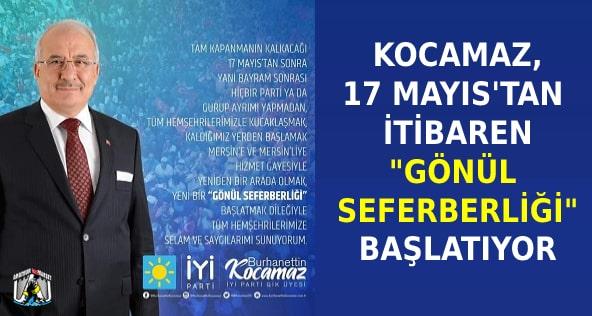 Burhanettin Kocamaz,Mersin Haber,İYİ Parti Mersin