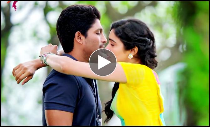 Toptimepass Deleted Scene Allu Arjun And Adah Sharma Lip