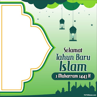 Twibbon 1 Muharram 1443 H