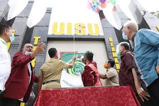 Milad ke-69 UISU, Wagub Musa Rajekshah Resmikan Monumen UISU